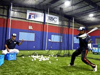 BBCマンツーマン野球教室